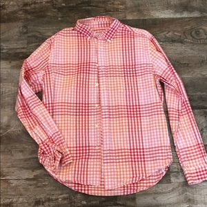 Men's L Merona button down casual shirt